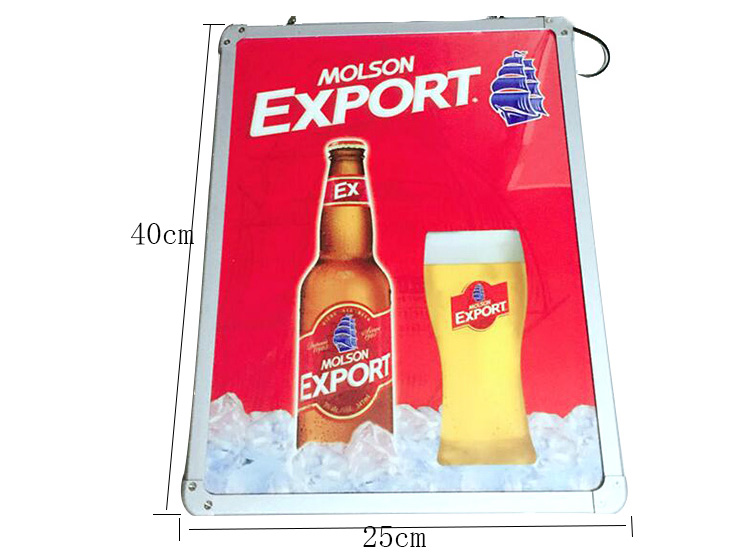 Molson Led Lighting Board